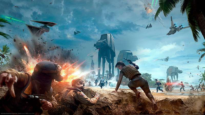 Star Wars Battlefront Rogue One: Scarif wallpaper or background
