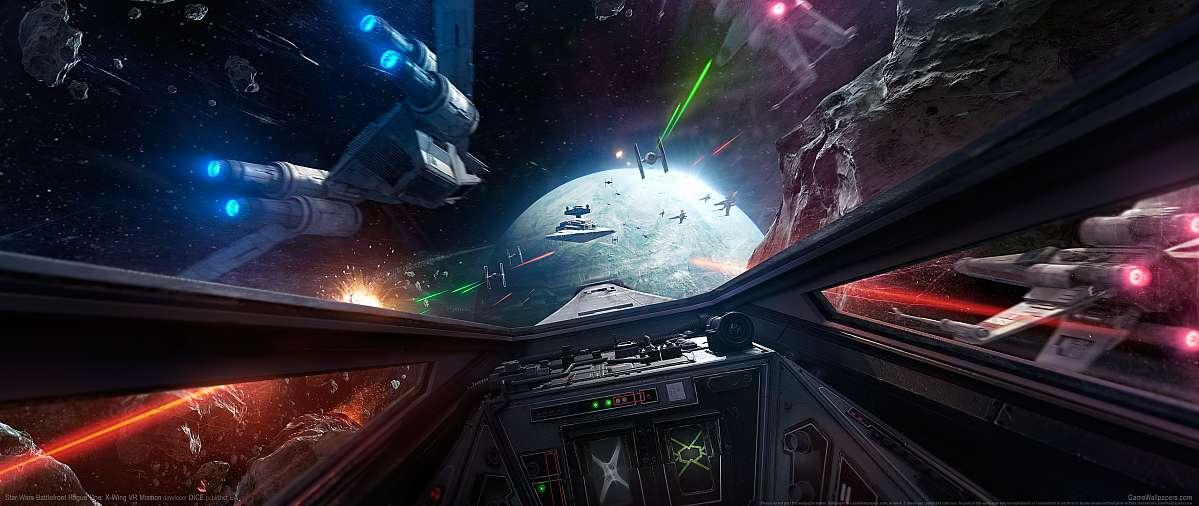 Star Wars Battlefront Rogue One X Wing Vr Mission Ultrawide 21 9 Wallpapers Or Desktop Backgrounds