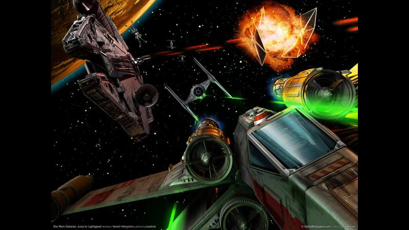 Star Wars Galaxies: Jump to Lightspeed wallpaper or background 01
