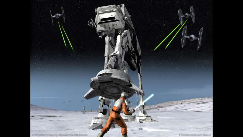 Star Wars Rogue Squadron 3: Rebel Strike wallpaper or background 01