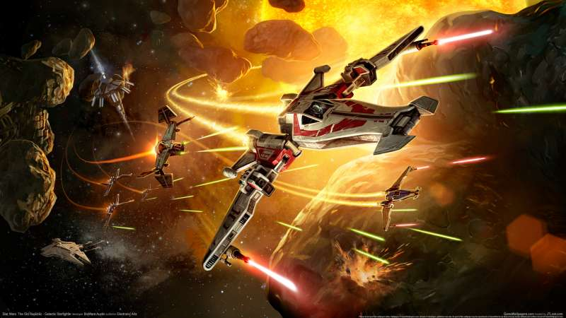 Star Wars: The Old Republic - Galactic Starfighter wallpaper or background