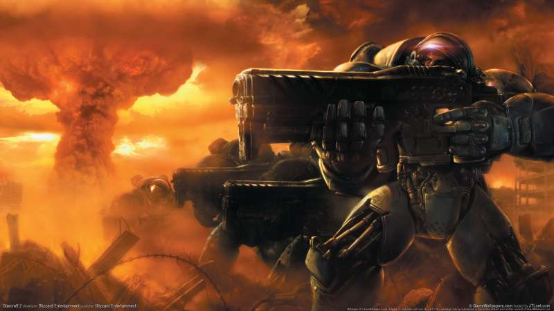 Starcraft 2 wallpaper or background 03