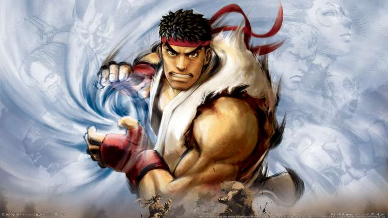 Street Fighter 4 wallpaper or background 09