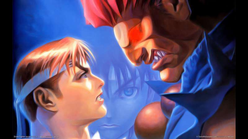 Street Fighter series wallpaper or background 02