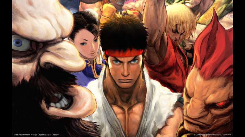 Street Fighter series wallpaper or background 04