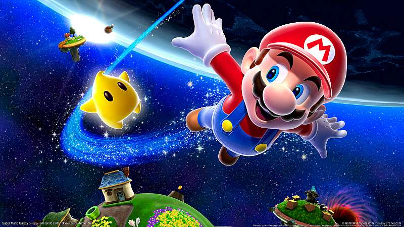 Super Mario Galaxy wallpaper or background