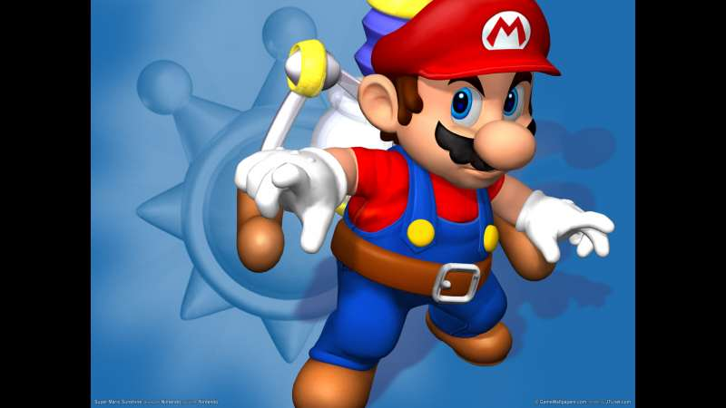 Super Mario Sunshine wallpaper or background 01
