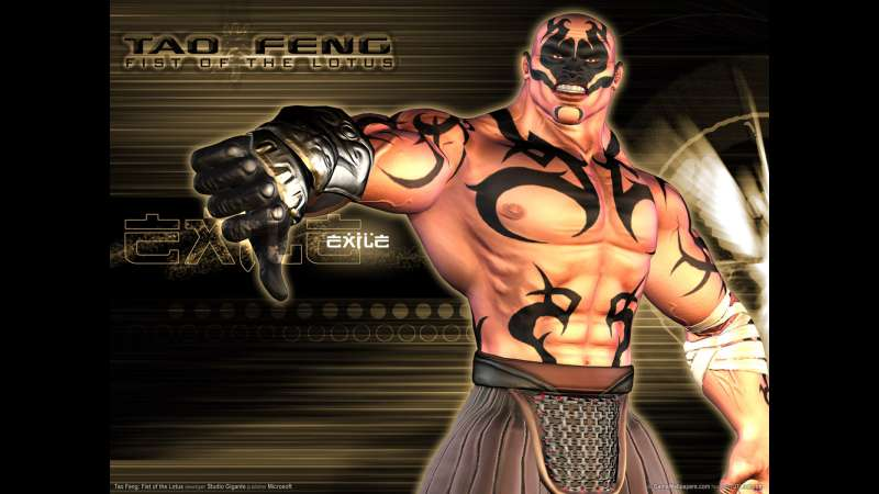 Tao Feng: Fist of the Lotus wallpaper or background 03