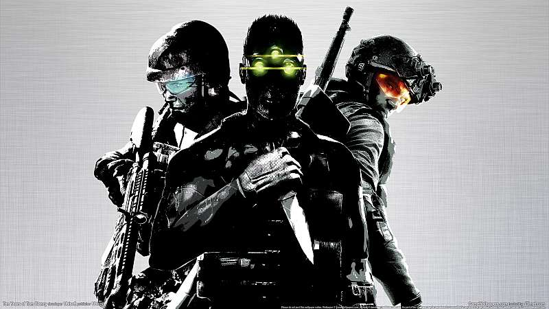 Ten Years Of Tom Clancy wallpaper or background