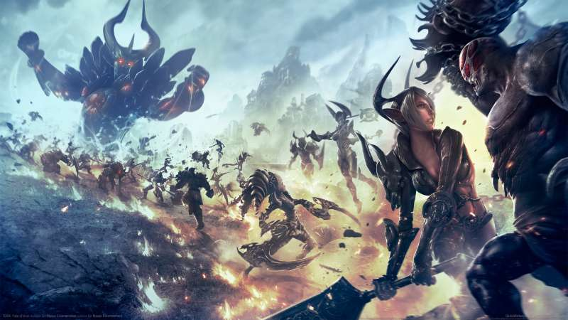 TERA: Fate of Arun wallpaper or background 01