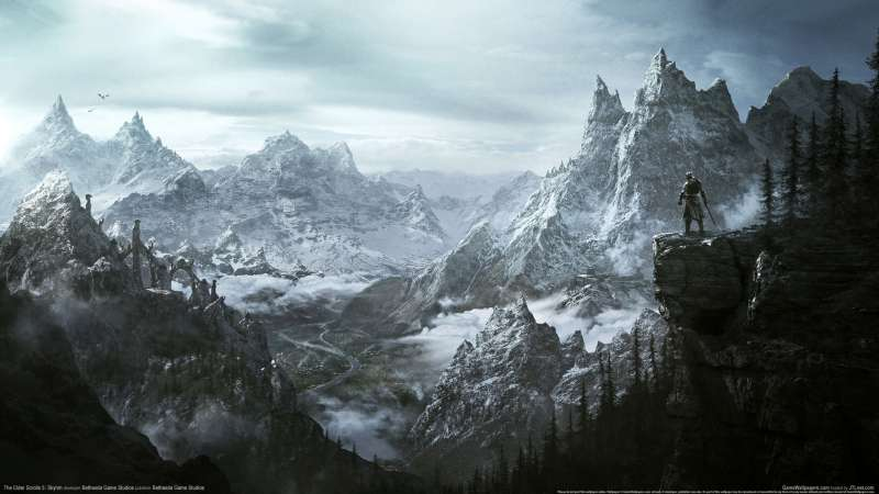 The Elder Scrolls 5: Skyrim wallpaper or background 08