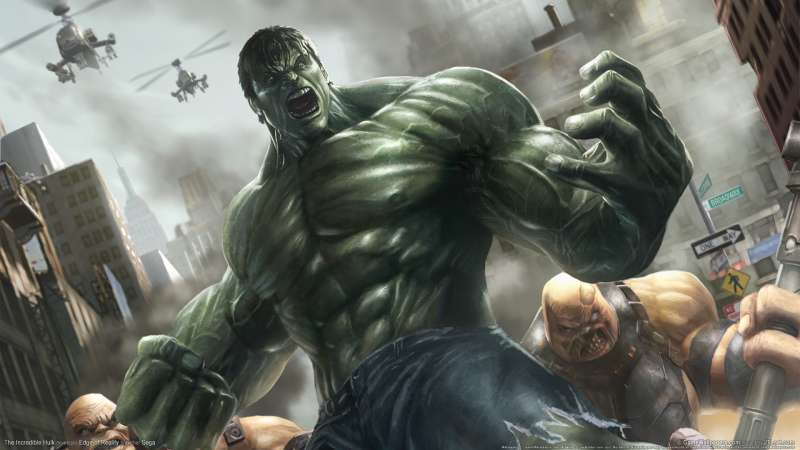 The Incredible Hulk wallpaper or background 02