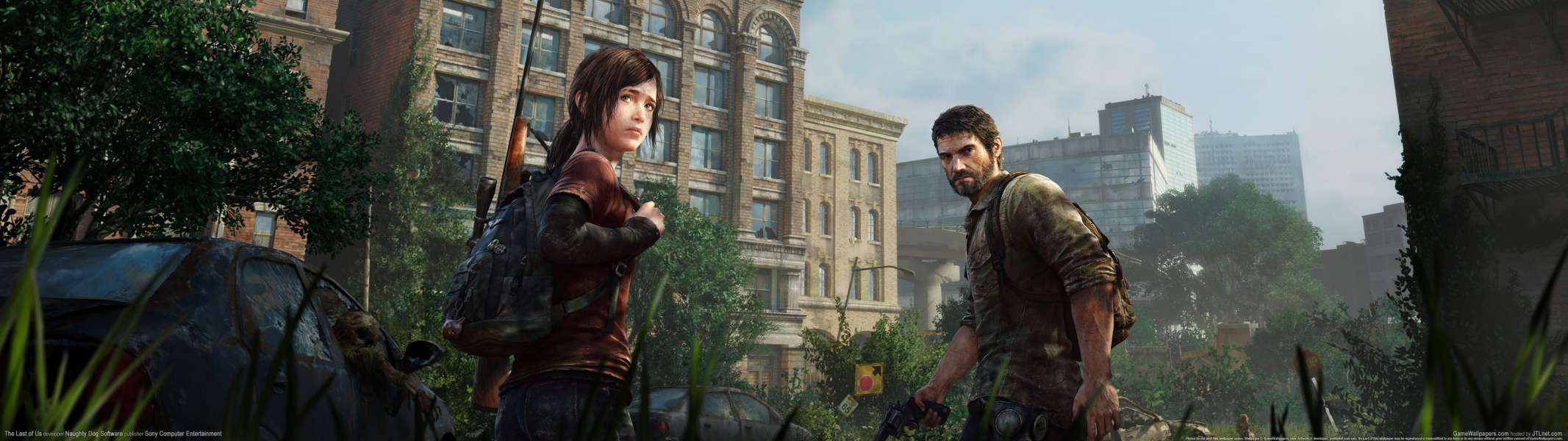 The Last of Us dual screen wallpaper or background