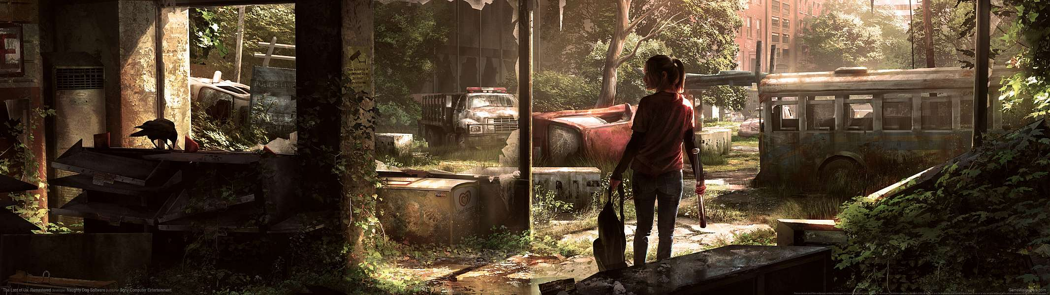 The Last of Us: Remastered dual screen wallpaper or background
