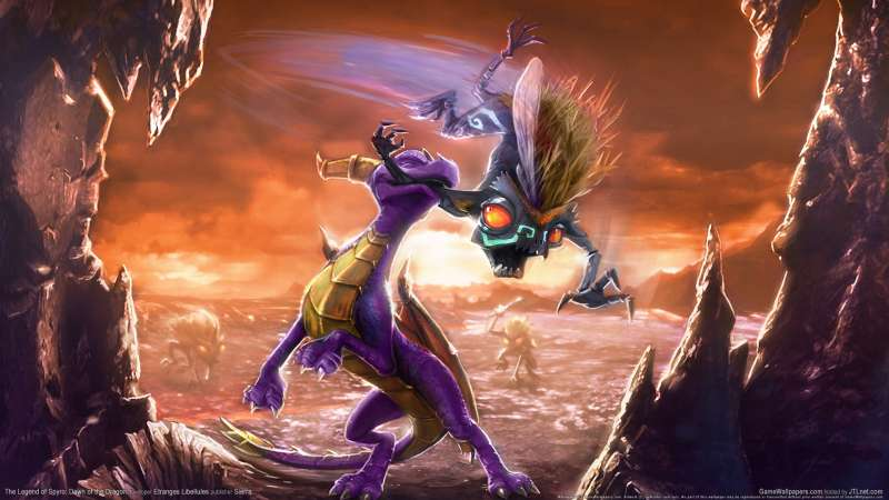 The Legend of Spyro: Dawn of the Dragon wallpaper or background 01