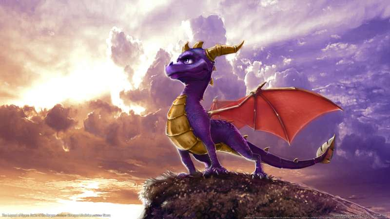 The Legend of Spyro: Dawn of the Dragon wallpaper or background 02