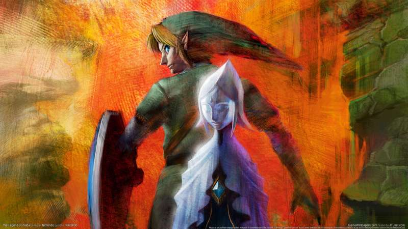The Legend of Zelda wallpaper or background 01