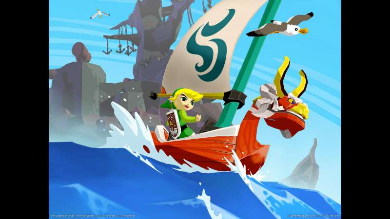 The Legend of Zelda: The Wind Waker wallpaper or background 01