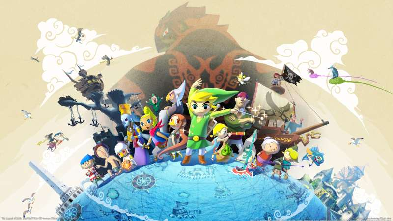 The Legend of Zelda: The Wind Waker HD wallpaper or background 01
