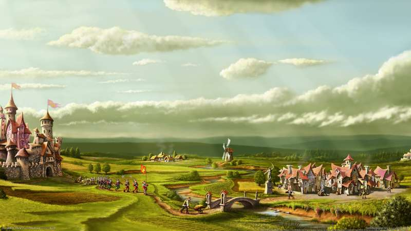The Settlers Online wallpaper or background 01