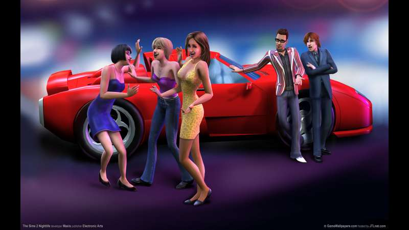 The Sims 2 Nightlife wallpaper or background 04