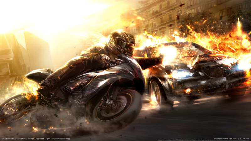 The Wheelman wallpaper or background 05