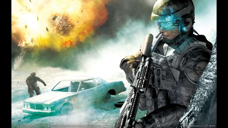 Tom Clancy's Ghost Recon Advanced Warfighter 2 wallpaper or background 02