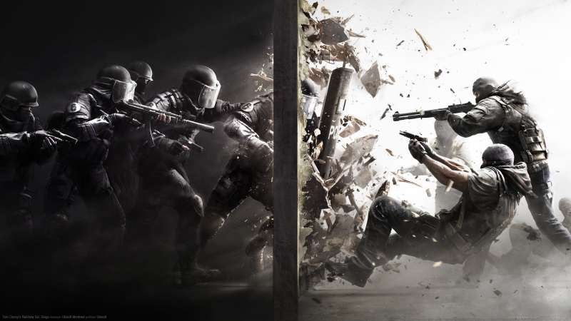 Tom Clancy's Rainbow Six: Siege wallpaper or background 01