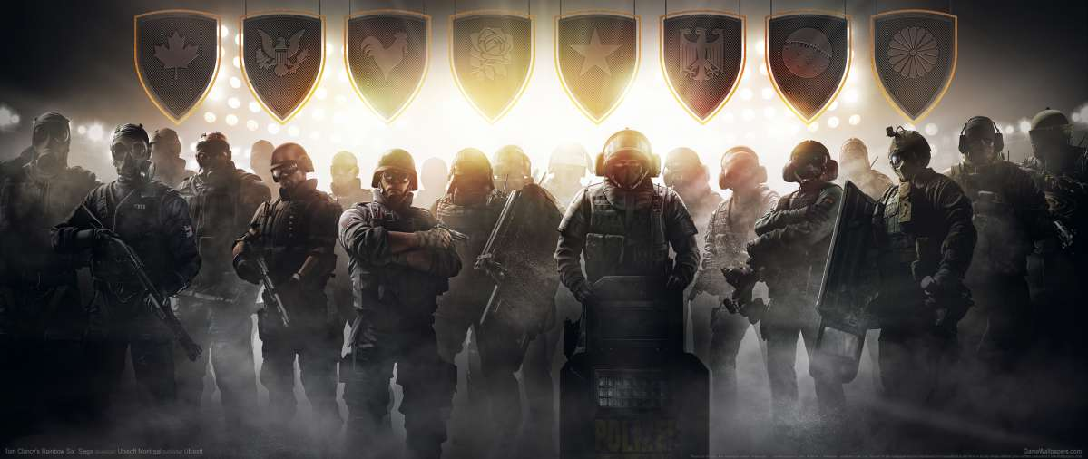 Tom Clancy's Rainbow Six: Siege ultrawide wallpaper or background 02