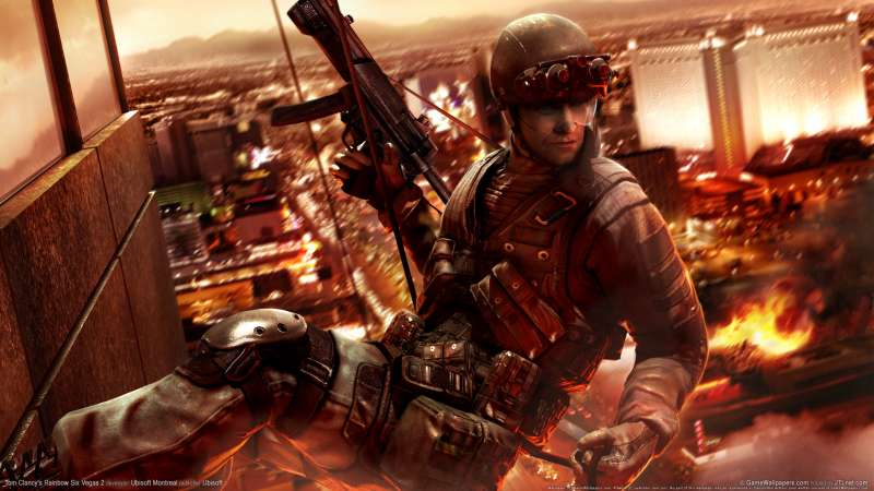 Tom Clancy's Rainbow Six Vegas 2 wallpaper or background 01