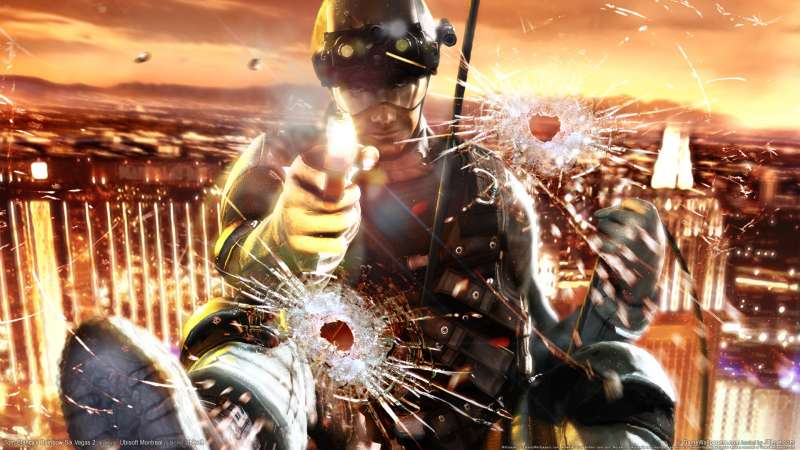 Tom Clancy's Rainbow Six Vegas 2 wallpaper or background 02