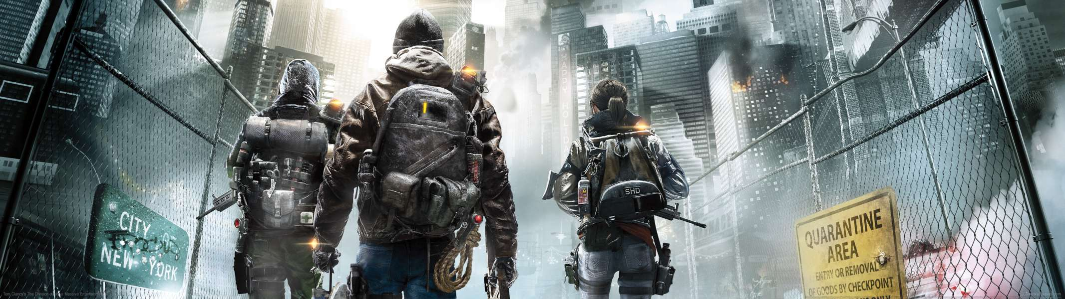 Tom Clancy's The Division dual screen wallpaper or background