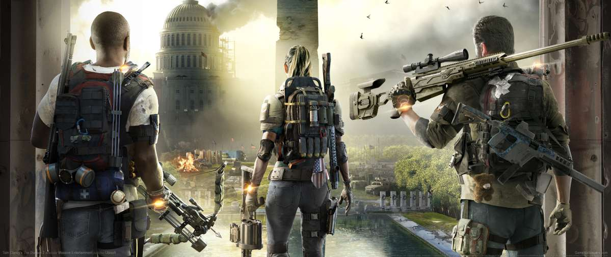 Tom Clancy's The Division 2 ultrawide wallpaper or background 01