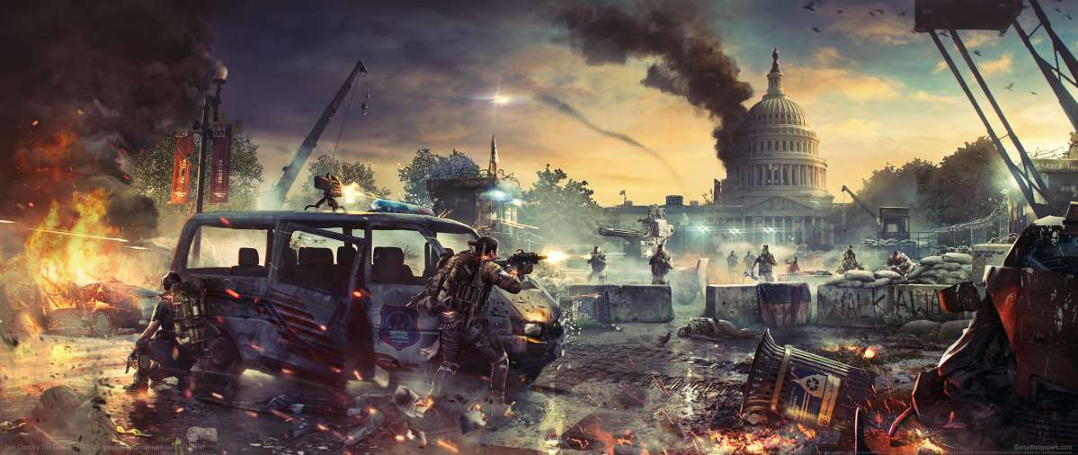 Tom Clancy's The Division 2 ultrawide wallpaper or background 02