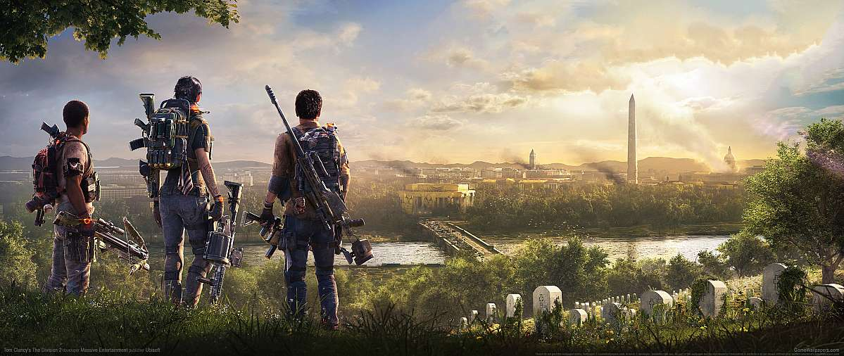 Tom Clancy's The Division 2 ultrawide wallpaper or background 03