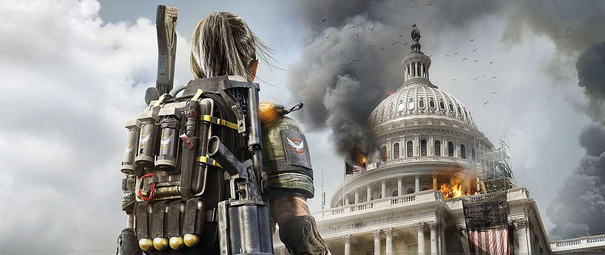 Tom Clancy's The Division 2 ultrawide wallpaper or background 04