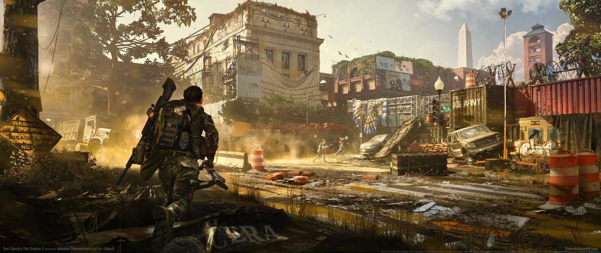 Tom Clancy's The Division 2 ultrawide wallpaper or background 11