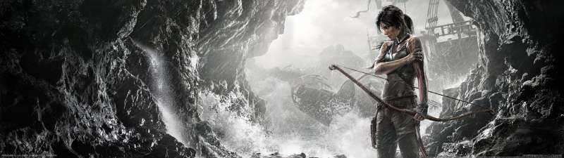 Tomb Raider dual screen wallpaper or background
