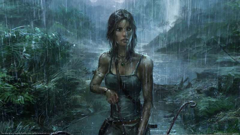 Tomb Raider fan art wallpaper or background 01