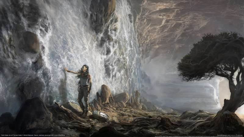Tomb Raider fan art wallpaper or background 06