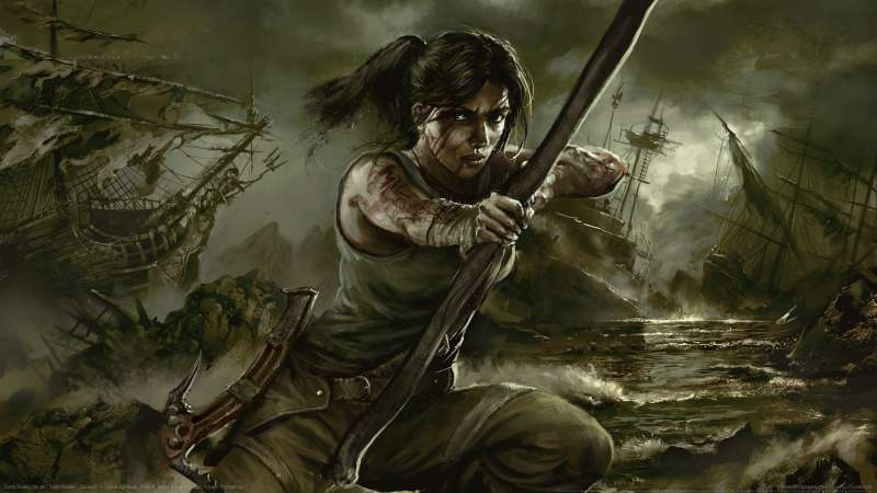 Tomb Raider fan art wallpaper or background 08