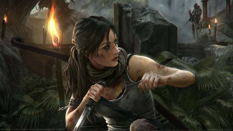 Tomb Raider fan art wallpaper or background 09