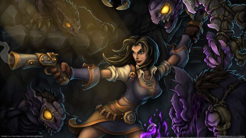 Torchlight wallpaper or background 02