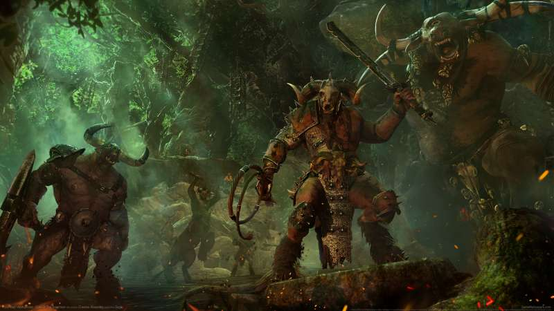 Total War: Warhammer - Call of the Beastmen wallpaper or background 01
