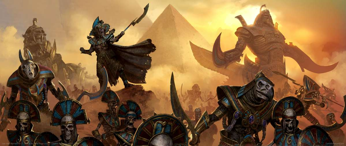 Total War: Warhammer 2 - Rise of the Tomb Kings wallpaper or background