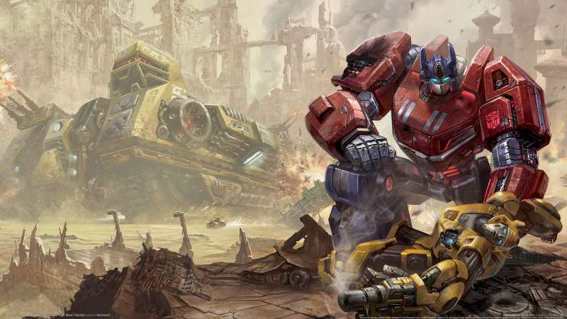 Transformers: Fall of Cybertron wallpaper or background 01