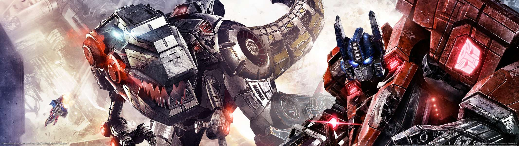 Transformers: Fall of Cybertron dual screen wallpaper or background