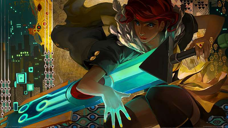 Transistor wallpaper or background