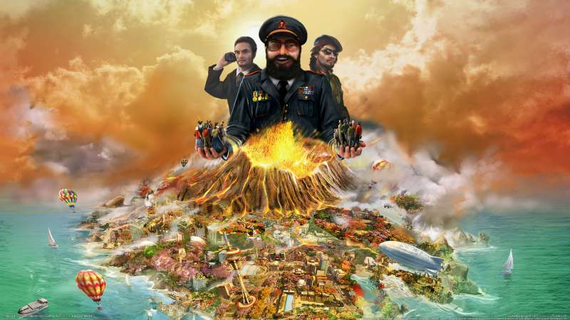 Tropico 4 wallpaper or background 01