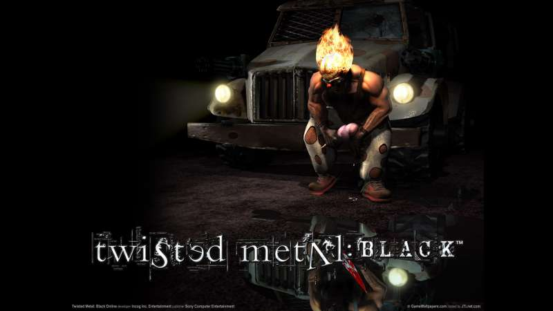Twisted Metal: Black Online wallpaper or background 01
